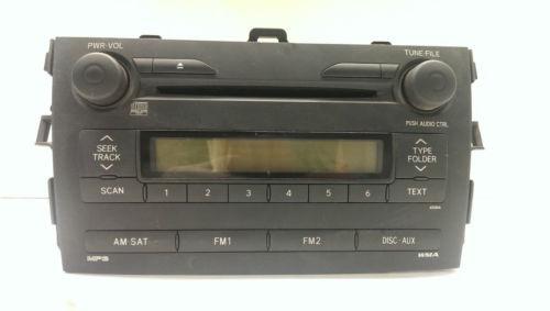 radio toyota corolla 2009-2011