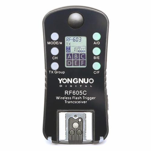 radio tranceptor para nikon rf605n (x1) - yongnuo argentina