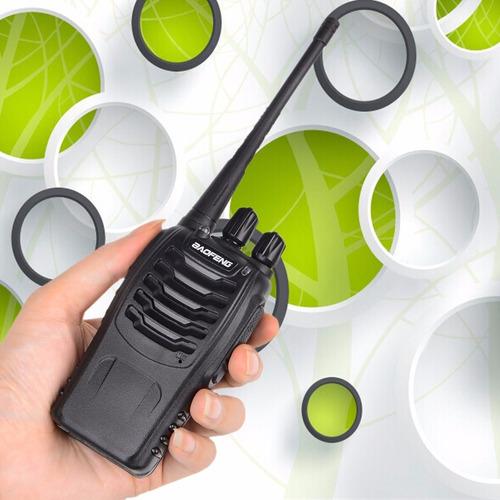 radio transmisor walkie talkie baofeng 888s uhf 16 canales