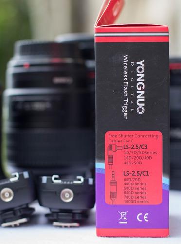 radio trigger yongnuo 605 disparador flash yongnuo