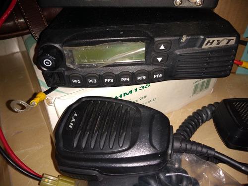 radio uhf movil banda media alta hyt tm-800