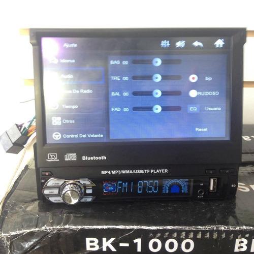 radio usb / aux -hd1080p, pantalla 7 pulg ojo es el bueno.