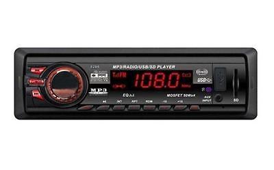 radio usb auxiliar 1 din
