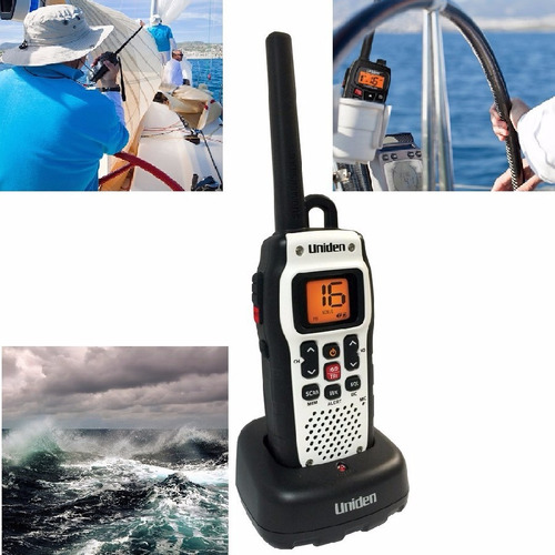 radio vhf marino transmisor sumergible 2vías walkies talkies