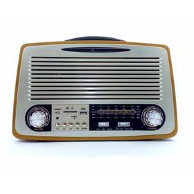 Radio Vintage Retro Portátil Bluetooth  Recarregável