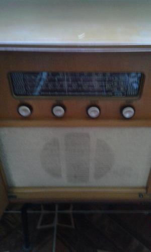 rádio vitrola com movel da philco