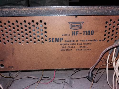 rádio vitrola semp, antigo modelo hf1100
