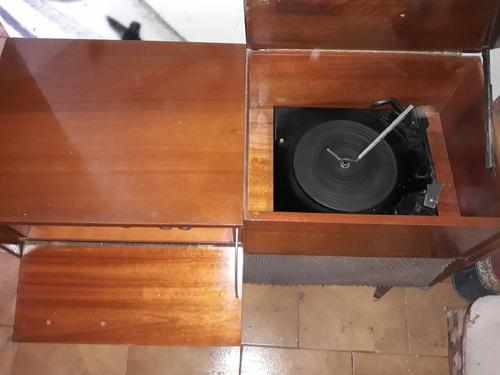 radio vitrola semp modelo hf 1100 com mais de 50 discos