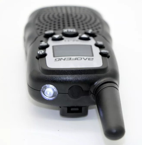 rádio walk talk comunicador baofeng bf t3 alcance 5km 22 can