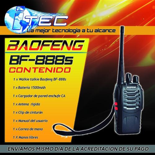 radio walkie talkie baofeng fm uhf  bf- 888s dhl