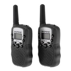 Rádio Walkie Talkie Intercom 22 Canais Baofeng Bf-t3 - Kit 2