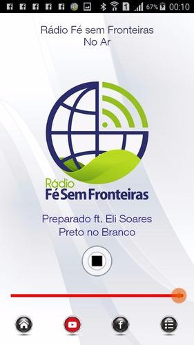 radio web - promoção -streaming + site + app publicado