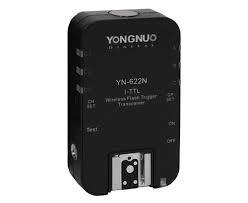 radio yongnuo yn622 para nikon o canon precio por unidad