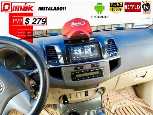 radio/equipo android 7.0 oem /wifi,tv,gps,cd,blue, garantía!