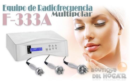 radiofrecuencia profesional multipolar silver f-333a.
