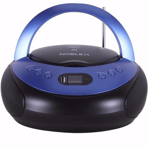 radiograbador noblex cdr-1299u 200w mp3 usb aux
