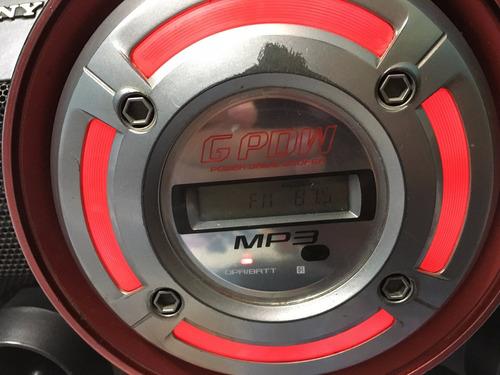 radiograbadora sony cfd g550cp con bluetooth preg x envio