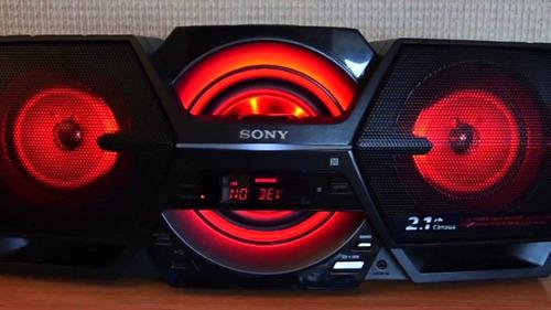 radiograbadora sony zs-btg909 negra piezas o reparacion