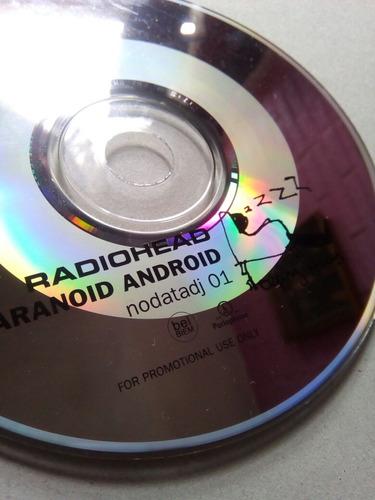 radiohead cd promo uk paranoid digipack no muse coldplay