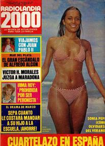 Radiolandia 2000 N 2743 1981 Sonia Pepe De Niro