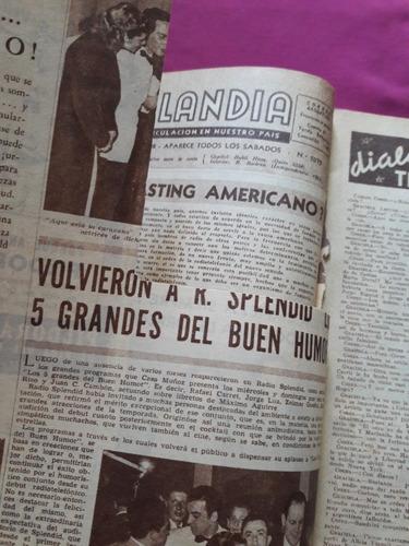 radiolandia n° 1075 - año 21 - octubre 1948 - amelia bence