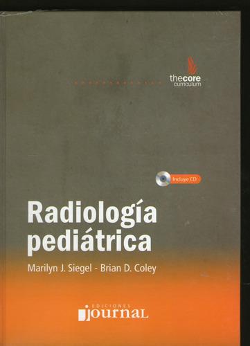 radiologia pediatrica c/cd - siegel