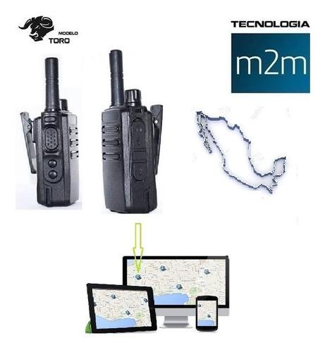 radios 4g cobertura nacional con gps