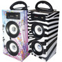 Parlante Portable Xp-450 Mp3 Sd Usb Radio Fm Entrada Colores