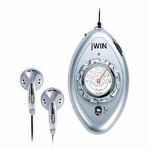 Mini Radio Portatil Jwin Am/fm Con Audifonos