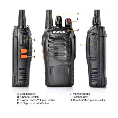 radios de comunicacion walkie talkie