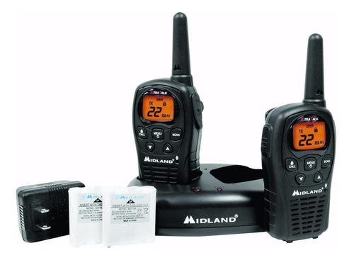 radios midland 24 millas - con cargador y pilas lxt500 vp3