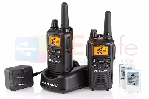 radios midland 30 millas lxt-600  36 canales gmrs