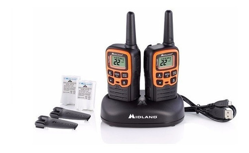 radios midland x talker t51vp3 45km* 28 millas 2 vías evox