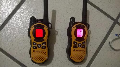 radios motorola talkabout mt352 35 millas +50km oferta!