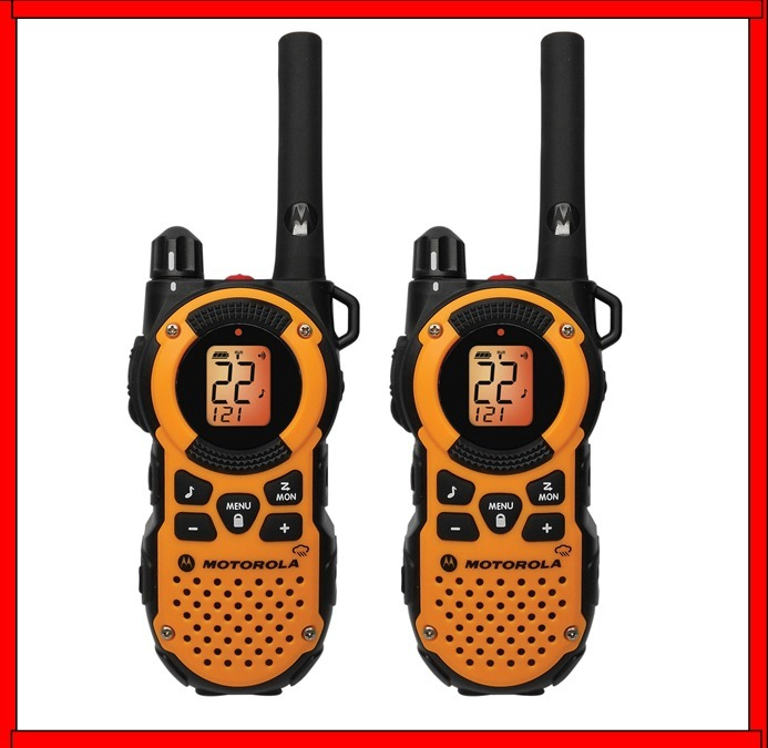 Radios Motorola Walkie Talkie 2 Vias 56 Kms Mt350r Uso Rudo