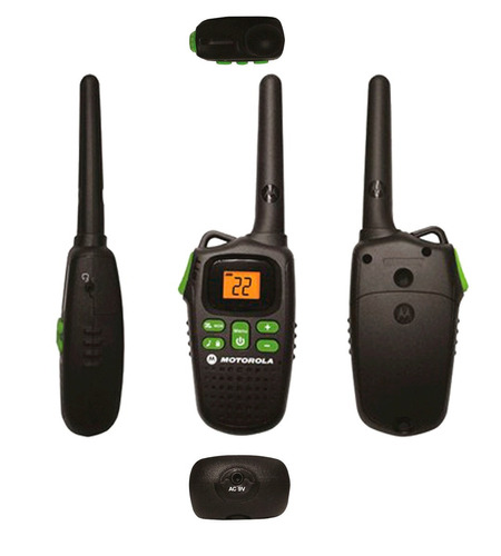 radios motorola walkie talkie md200mr recargabl alcance 32km