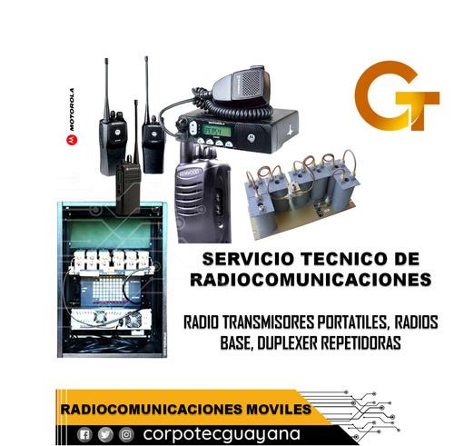 radios transmisores portatiles duplexer repetidoras