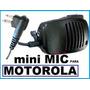 Mini Microfono Y Parlante Para Radio Motorola Portatil