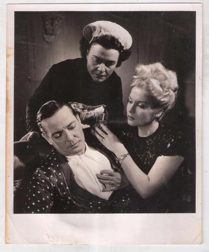 radioteatro 1946. fotografía original.
