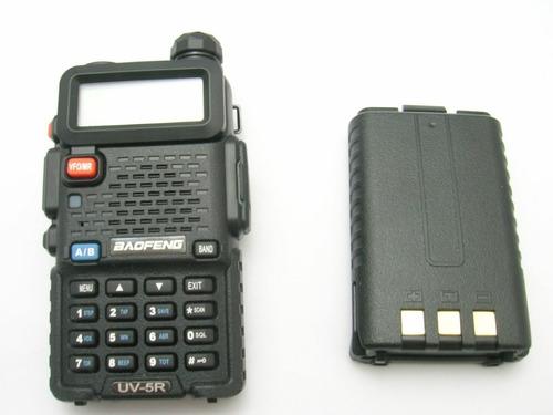 radiotelefono baofeng uv 5r5 plus uhf vhf doble banda pofung