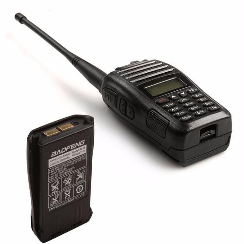 radiotelefono baofeng uv-b6 banda dual vhf/uh fm 99 canales