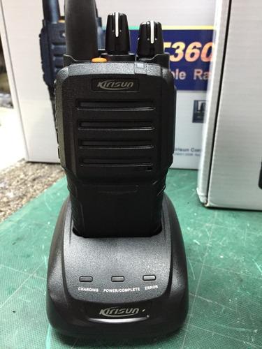 radiotransmisor portatil profesional kirisun pt3600 vhf
