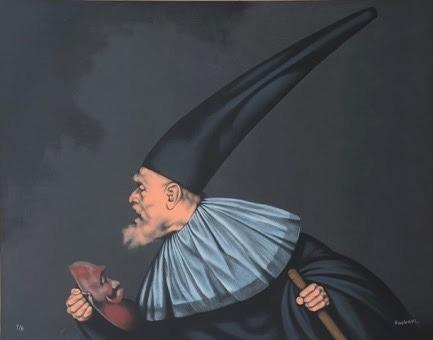 rafael coronel serigrafia  ¨la gola¨ certificado artista