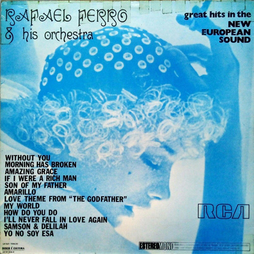 rafael ferro e his orchestra lp new european sound 15378