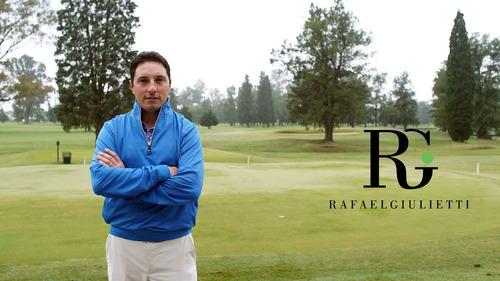 rafael giulietti golf coach - clases de golf