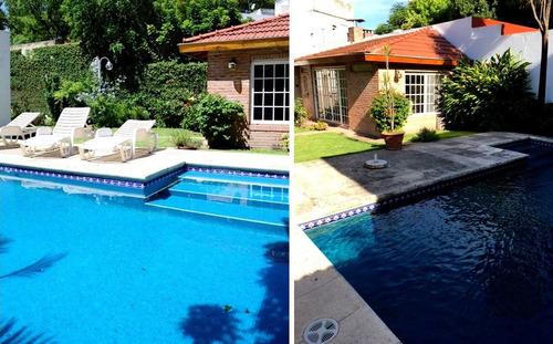 rafaela al 4500 - excelente casa c/patio, jardin, piscina