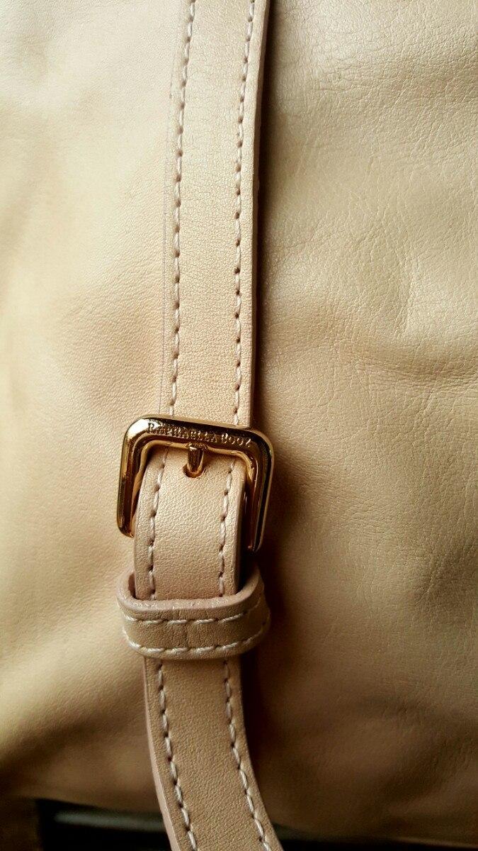 952d5584e Rafaella Booz Bolsa Couro Grande Original Nude Pele - R$ 298,00 em ...