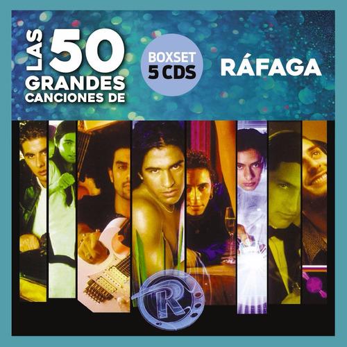 ráfaga - las 50 grandes canciones - 5 cd