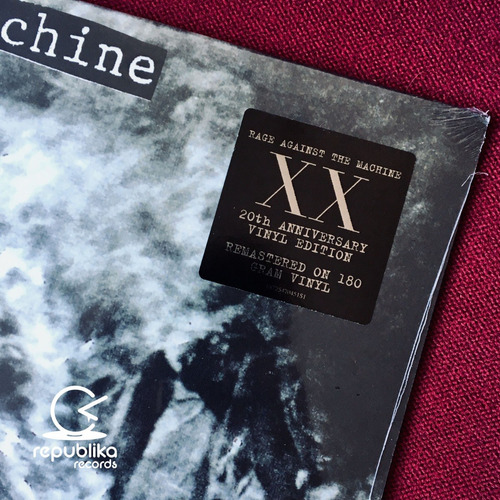 rage against the machine - r a t m xx - lp nuevo ed usa