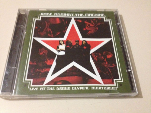 rage againts the machine live at the grand olympic cd usado